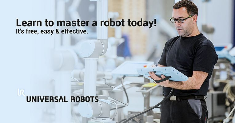 Universal Robots Presents a Free Online Training in Robot Programming