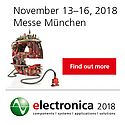 electronica 2018, World's Leading Trade Fair and Conference for Electronics