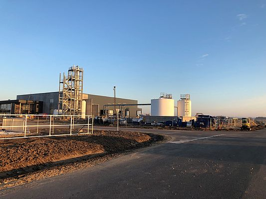 Quantafuel's full-scale plant for continuous processing based in Skive, Denmark