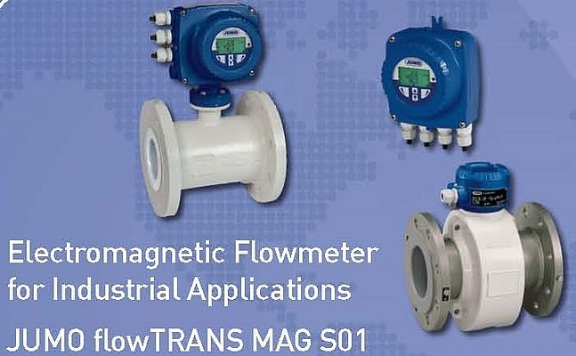 Electromagnetic Flowmeter for Industrial Applications