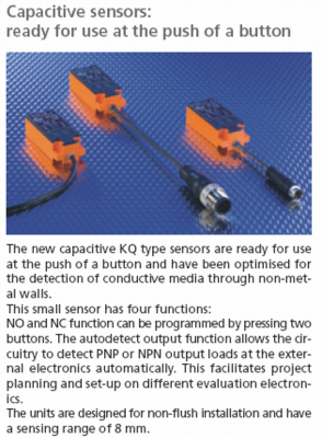 Capacitive sensors: