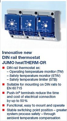 Jumo heatTHERM-DR thermostat