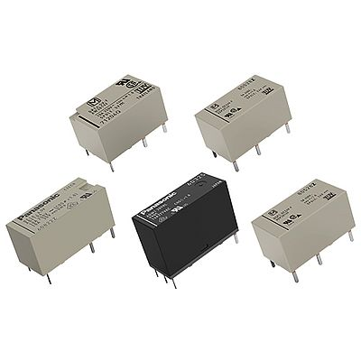 Panasonic's Polarized Power Relays - at TTI