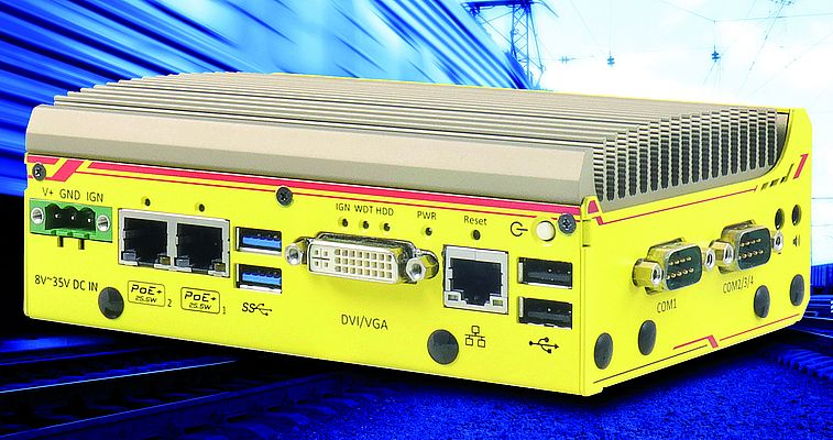 Fanless In-vehicle Controller