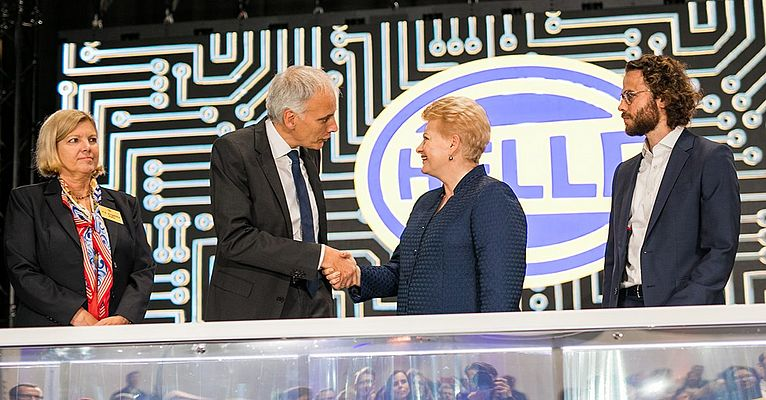 Hella Celebrates the Opening of its New Lithuanian Plant