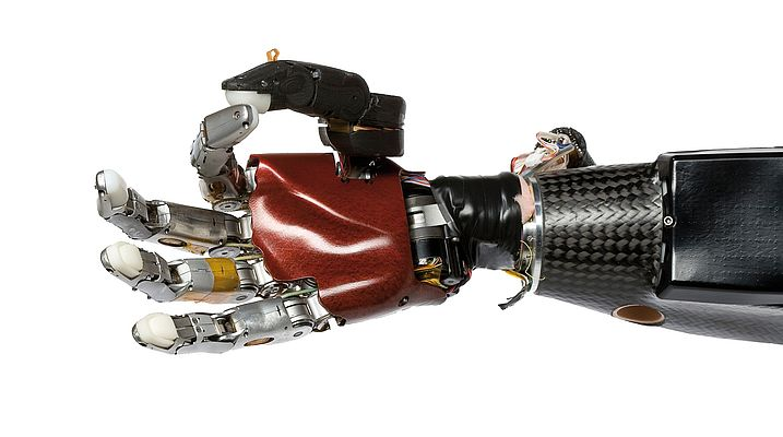 Not science fiction: this arm prosthesis is controlled by thought.
