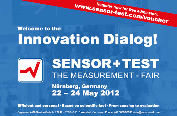 Sensor + Test 2012: Register for free