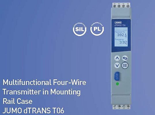Multifunctional Four-Wire Transmitter