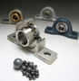 Multifaceted ball bearing units small, fast, and heat-resistant