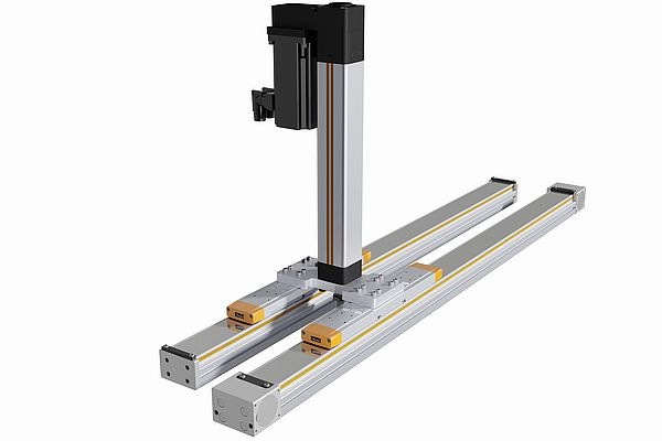 High-load Rodless Linear Actuators Powering Factory Automation