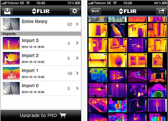 Thermal Imaging App