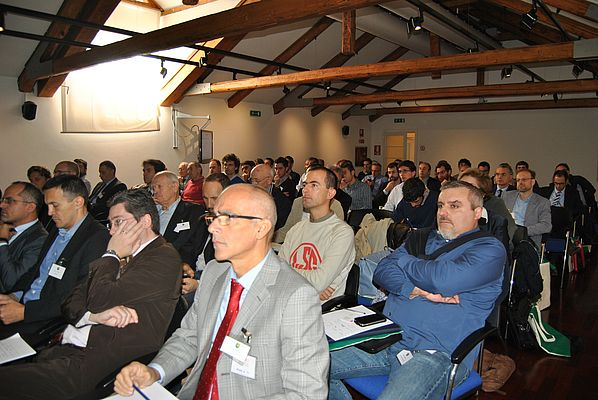 Attendees followed carefully all speeches and showed a great interest in all debated topics