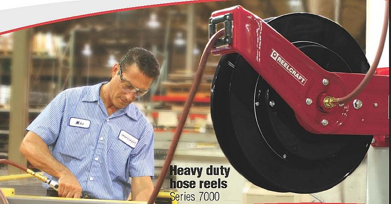 Heavy Duty Hose Reel Series 7000