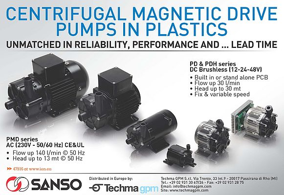 Magnetic Drive Centrifugal Pumps