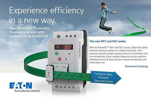 New PowerXL™ variable frequency drives