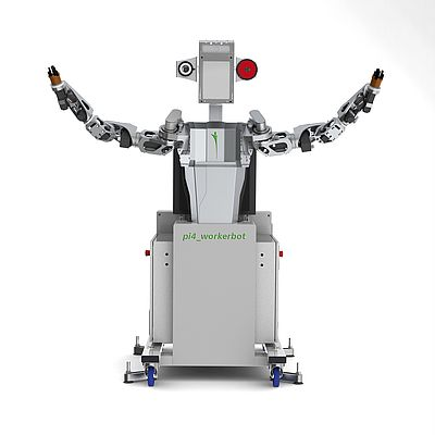 Robot With Finger-tip Sensitivity