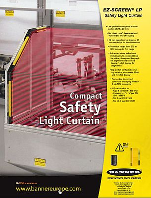 EZ-screen LP, safety light curtain