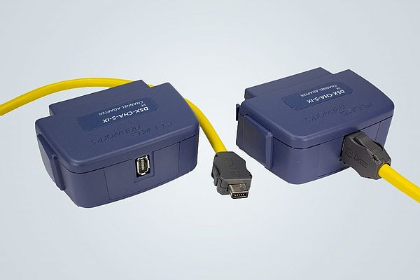 Adapter for Network Cabling Certification Tools