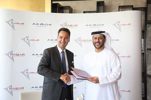 Armor and Masar Printing and Publishing Join Forces to Encourage the Use of Renewable Energy in Dubai