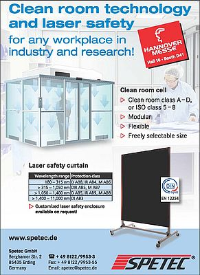 Clean Room Cell and Laser Safety