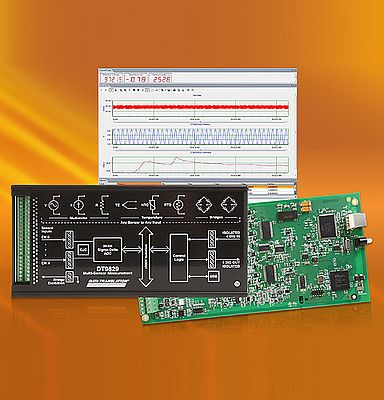 First Eight-Channel USB-Powered Multi-Sensor Measurement Module