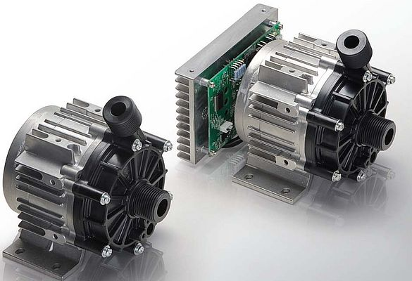 Centrifugal Magnetic Drive Pumps in Plastics