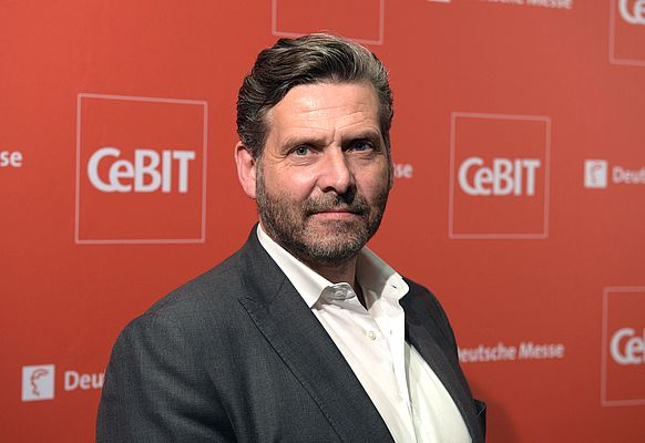 Hartwig von Saß, Chief of CeBIT Press Office