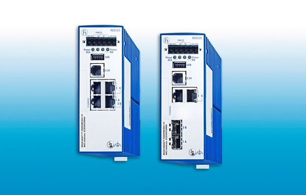 Entry-Level Fast Ethernet Industrial Switches RED25