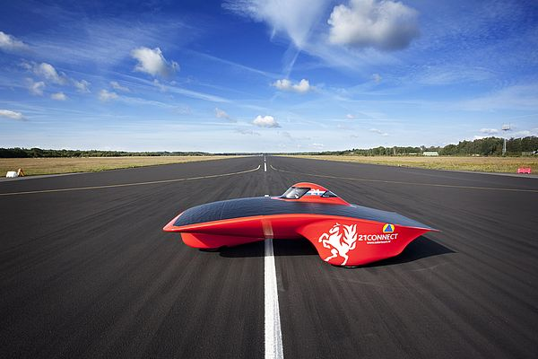 The 21Connect is the Solar car with which Solar Team Twente reached the fifth place of the World Solar Challenge 2011