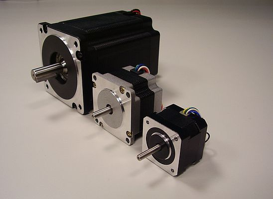 3 Phase Stepper Motors