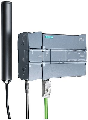 Simatic S7-1200 compact controller with GPRS-CP1242-7 for wireless communication