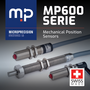 MP600 Sensors - Sensing 2 Positions within Microns