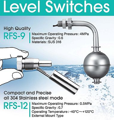 Compact and Precise Level Switches