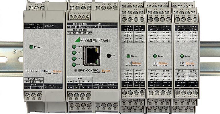 Modular Summator for Energy Monitoring