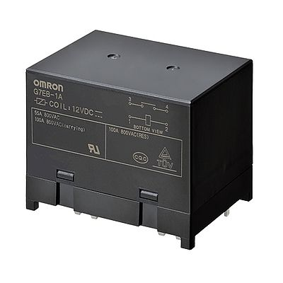 Omron's G7EB High Power PCB Relay available at TTI