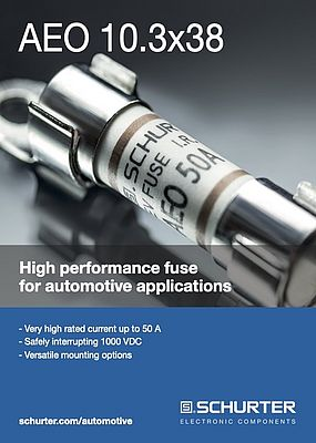 AEO 10.3x38 High-performance Fuse from Schurter