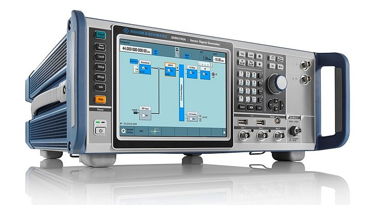 The R&S SMM100A is the only vector signal generator with mmWave testing capabilities in its class.
