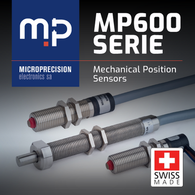 MP600 Limit Sensors - Detect 2 Positions within Microns