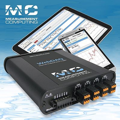 WebDAQ Series internet-enabled data logger