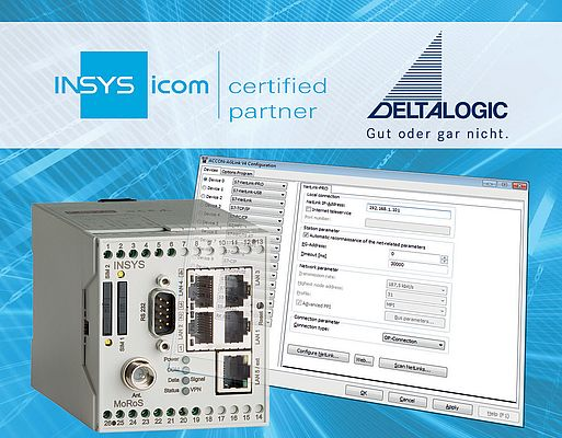 Deltalogic Becomes a Certified Insys Icom Partner