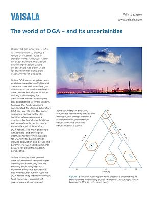 The World of DGA - and its Uncertainties