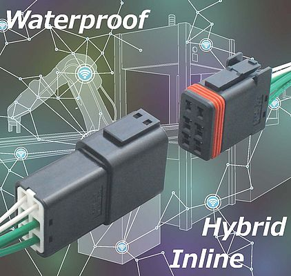 Waterproof Inline Connectors