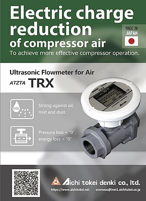 ATZTA TRX Ultrasonic Flowmeter for Air