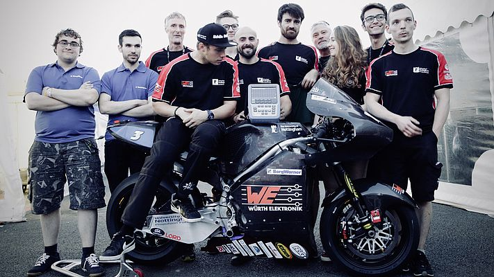 A Lab Oscilloscope for an Electric Superbike