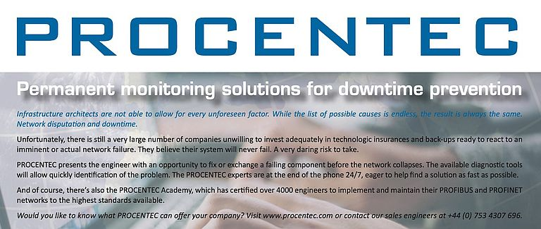 Procentec Diagnostic Tools