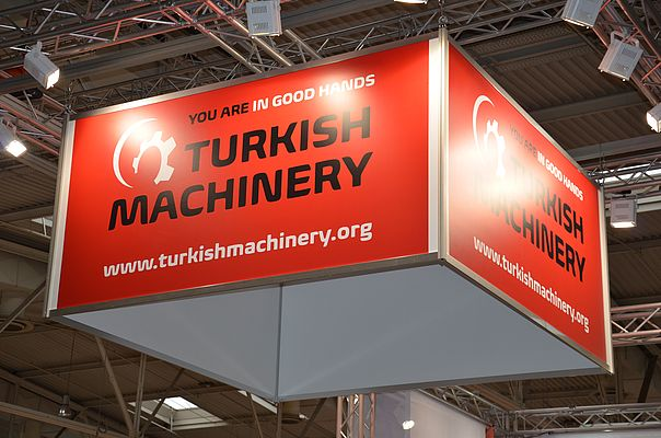 The Turkish Machinery Group exhibited at this year's HANNOVER MESSE.