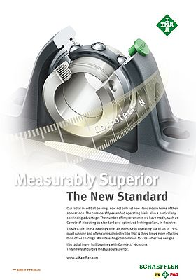 Measurably Superior- Radial insert ball bearings