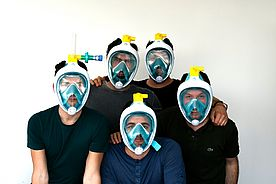 Covid Breath: Scuba Mask Becomes a Respirator