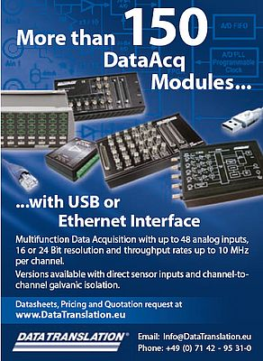 More than 150 DataAcq modules...