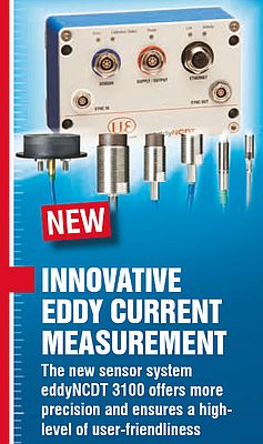 Innovative eddy current measurement